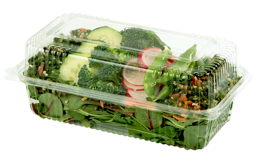 KL-CS-95 Compostable Plastic Clamshell Packaging