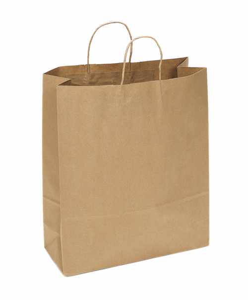S01NK Recycled Kraft Shopping Bag