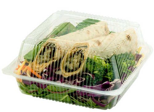 Compostable PLA Plastic Clamshell