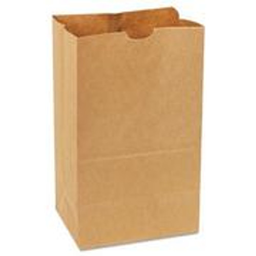 "25# Duro Shorty Bag Recycled Kraft ,  8.25"" x 6.1"" x 15.8"""