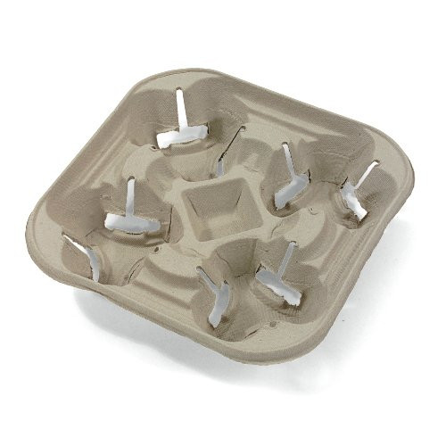 4 cup Hot Cup Carry Trays 20972