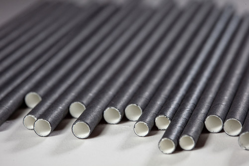 Black Smoothie Straws