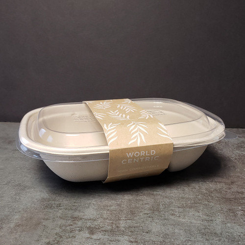 Compostable Takeout Box Sleeve SL-PA-CT2