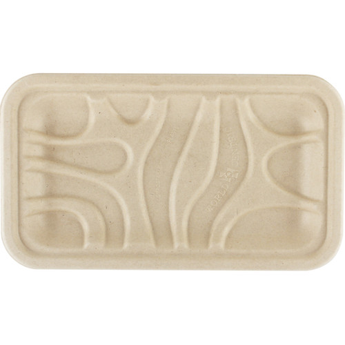 Compostable meat & produce tray