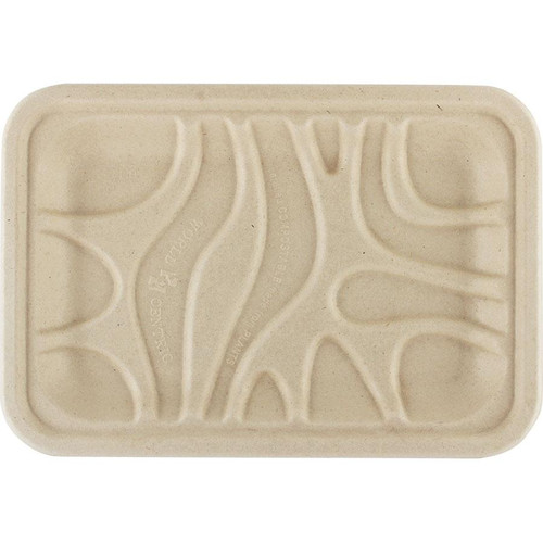 PLA Lined Compostable Meat/Produce Tray
