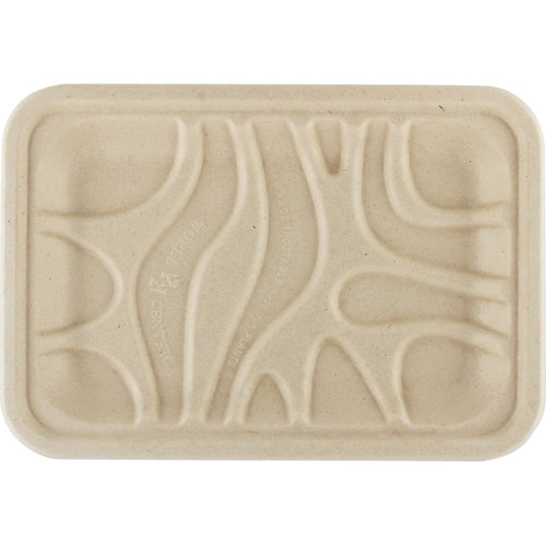 Fiber Compostable Meat Tray Sample