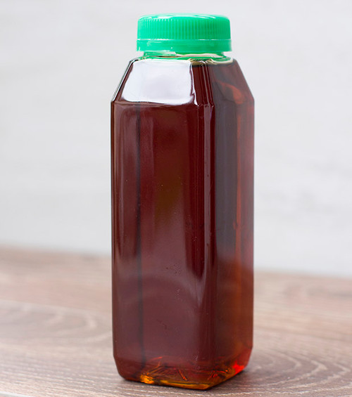 10 oz Square Plastic Juice Bottles
