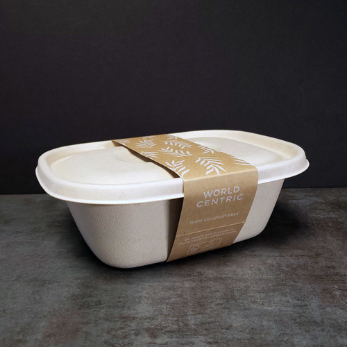 Custom Paper Tray Sleeve Fits 48 oz catering Trays
