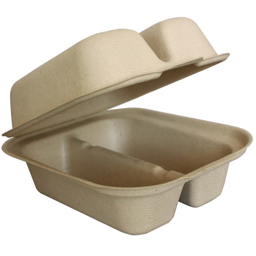 Taco Fiber Clamshell Containers TO-SC-T2