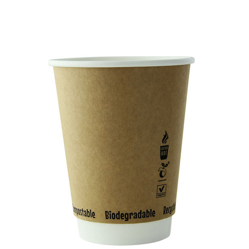 210GCDW10K insulated compostable coffee cups