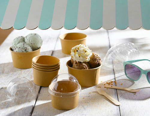 paper ice cream bowls