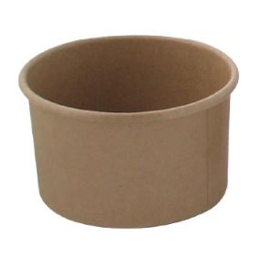 210POB270 - 9 oz Brown Kraft Paper Bowls
