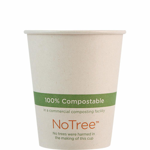 6 oz Compostable NoTree Hot Cup