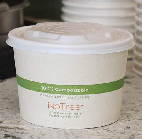 12 oz NoTree Compostable Sugarcane Bowls BO-SU-12