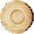 Bamboo Veneer Round Plate Medium, 100 count box