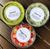 Round deli container lids