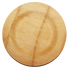 Bamboo Veneer Round Plate Large   100 count