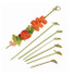"""NOSHI"" Bamboo Looped Skewer - 4.1"" 