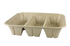 104 oz Fiber Catering Tray 3 compartment  | Sample