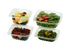 12 oz World Centric Clear, Rectangular Deli Containers