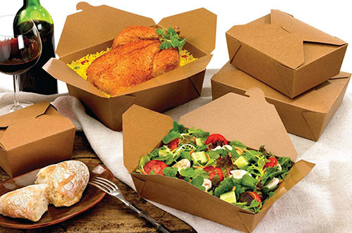 Paper To-Go Boxes