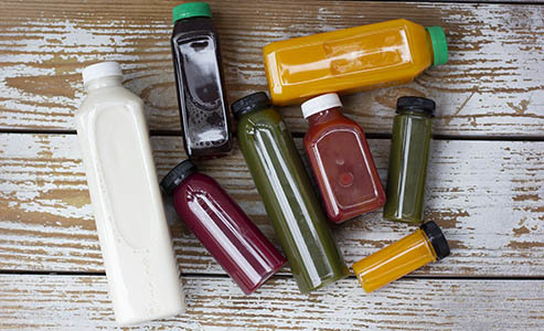 Juice Bottles by the Case
