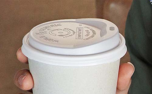 Compostable Coffee Cup Lids