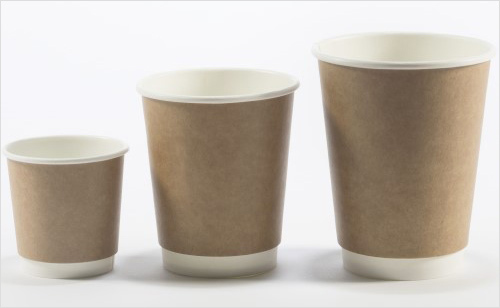 Kraft Insulated Hot Cups