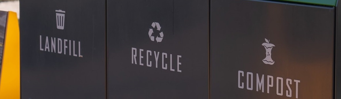 landfill recycling and compost containers