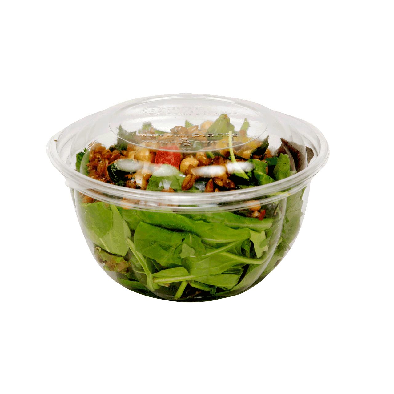 Clear Salad Bowls