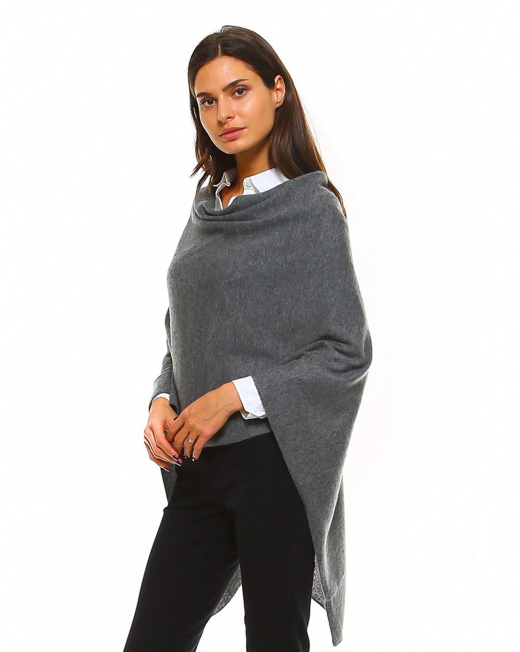 Cashmere Wrap - Graphite