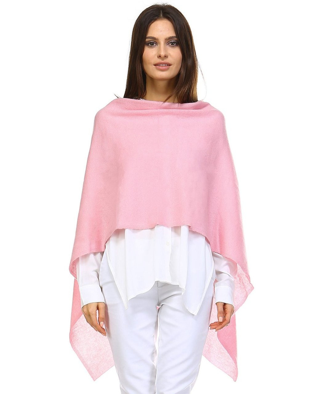 Cashmere Wrap  - Cotton Candy