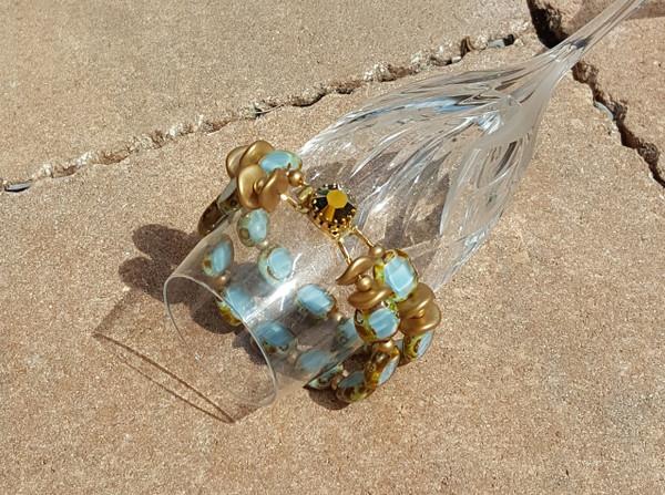 Sky Double Strand Bracelet
