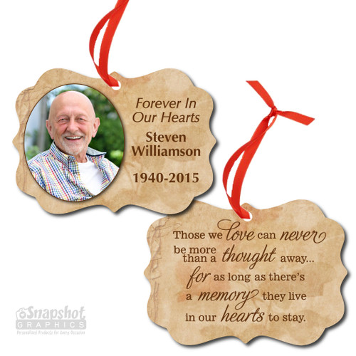 Forever In Our Hearts - Benelux Metal Ornament