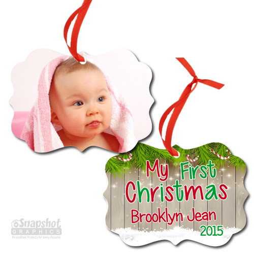 My First Christmas - Benelux Metal Ornament