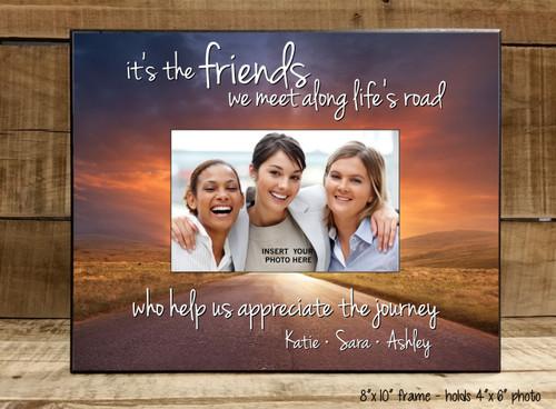 Friends We Meet Along Life's Road - Frame