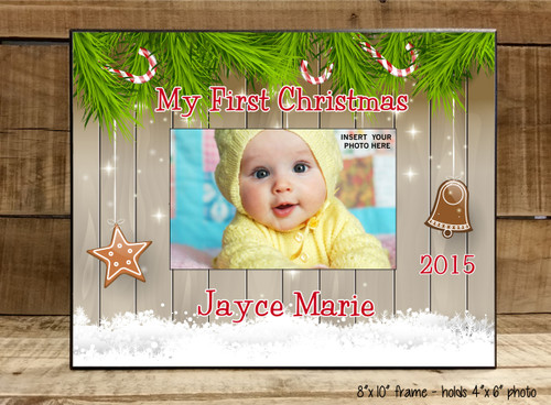 My First Christmas - Frame