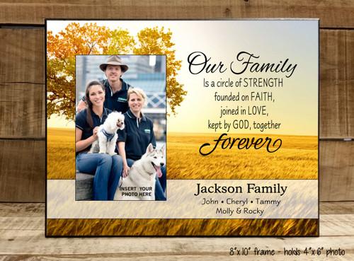 Our Family Forever - Frame