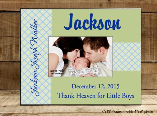 Thank Heaven for Little Boys - Frame