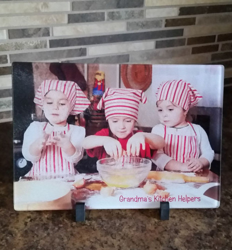 Photo Perfect Glass Cutting Board