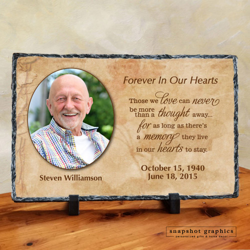 Forever in Our Hearts Memorial Stone