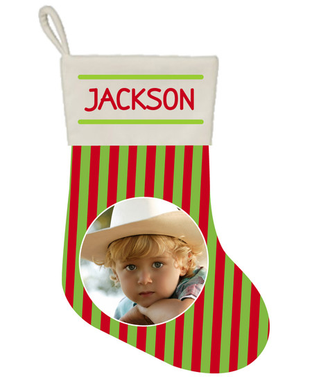 Holiday Stripe - Stocking