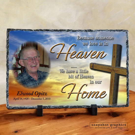 Heaven in Our Home Memorial Stone