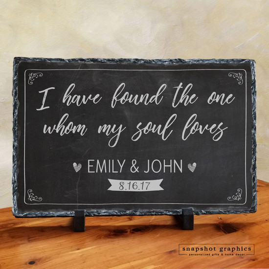 I Have Found The One My Soul Loves Stone