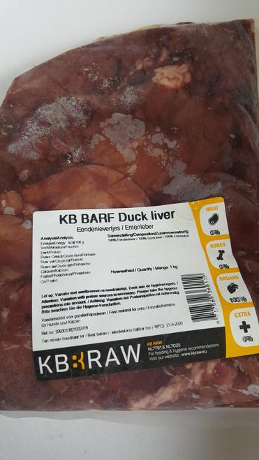 KB BARF - Duck liver