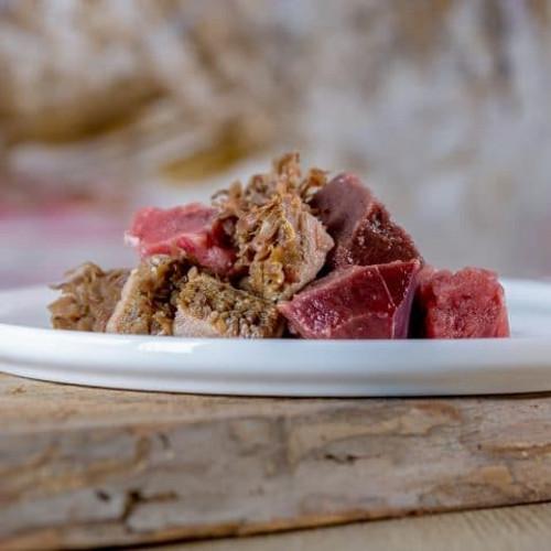 Beef gourmet menu 1kg frozen diced
