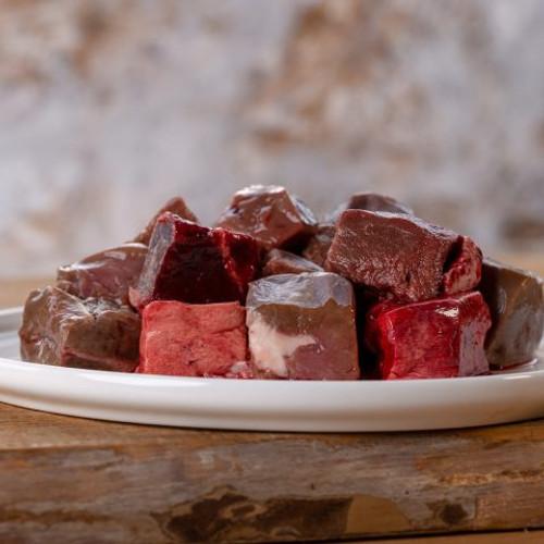 Lamb offal mix frozen, diced 1kg