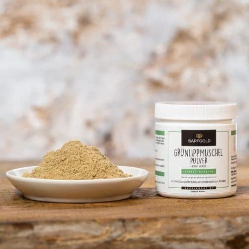 Green-lipped mussel powder, not de-oiled Powder 100 g