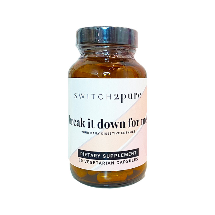 Switch2Pure Break It Down For Me (Daily Digestive Enzymes)