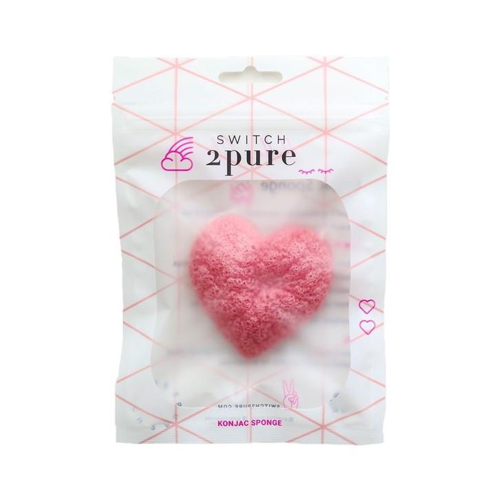 Switch2Pure Heart Konjac Sponge